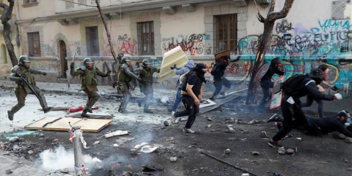 Protestas en Chile esta semana dejan 283 detenidos