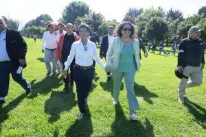 Ceremonia oficial de la posesión de la alcaldesa Claudia López