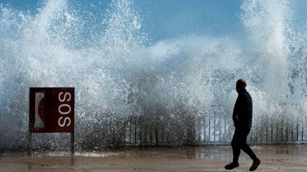 Impactantes imágenes del temporal que ha causado tres muertos en España