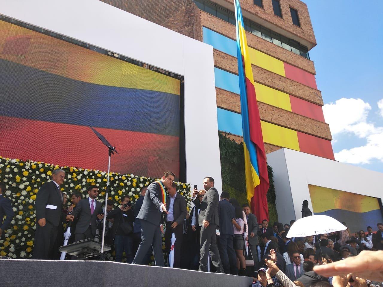 Así transcurrió el evento de posesión del Gobernador de Cundinamarca