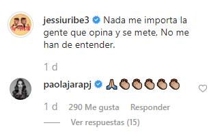 ¡Se cansaron! Jessi Uribe y Paola Jara responden ante los rumores
