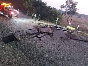 Atentado: vuelan parte de la carretera Cúcuta-Tibú