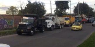 camioneros Bogotá