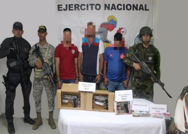"""Detienen a supuestos guerrilleros del Eln que atentarían en el """"paro armado"""""""