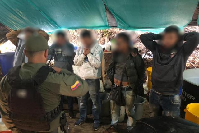 Prisión preventiva para los capturados en la finca del Embajador