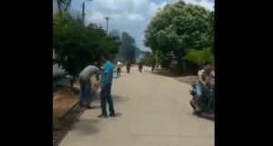 Explota carro bomba en Puerto Rondón, Arauca