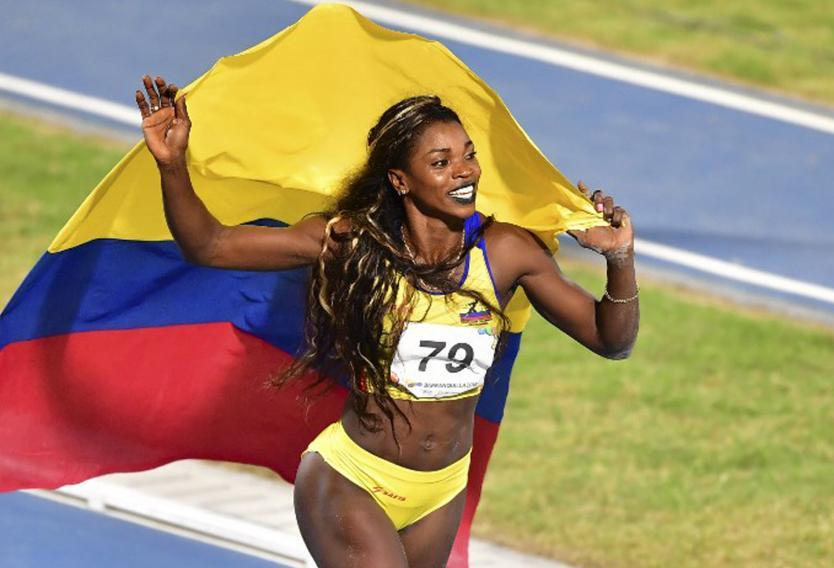Caterine Ibargüen se retirará tras los Olímpicos de Tokio