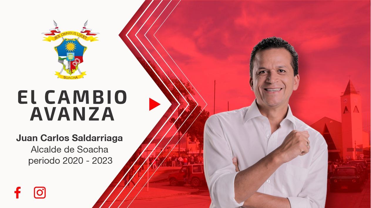 Alcalde de Soacha, Juan Carlos Saldarriaga, nos habla sobre sus 40 días de gestión y lo que viene