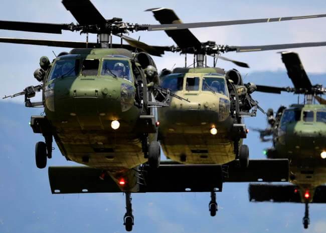 Accidente Helicóptero FAC