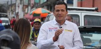 Alcalde de Soacha Saldarreaga