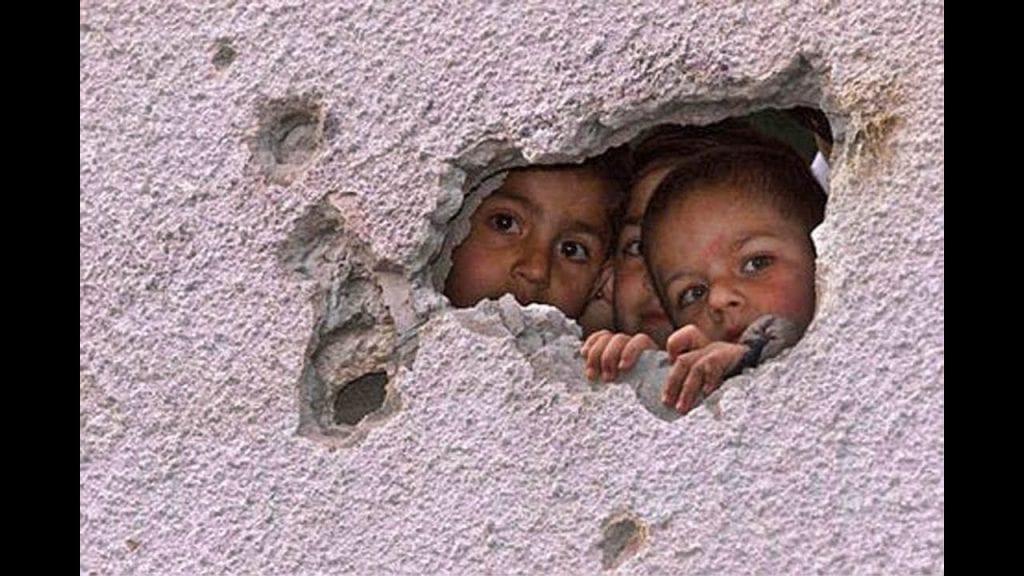 Niños, más de 95.000 víctimas de la guerra desde 2005