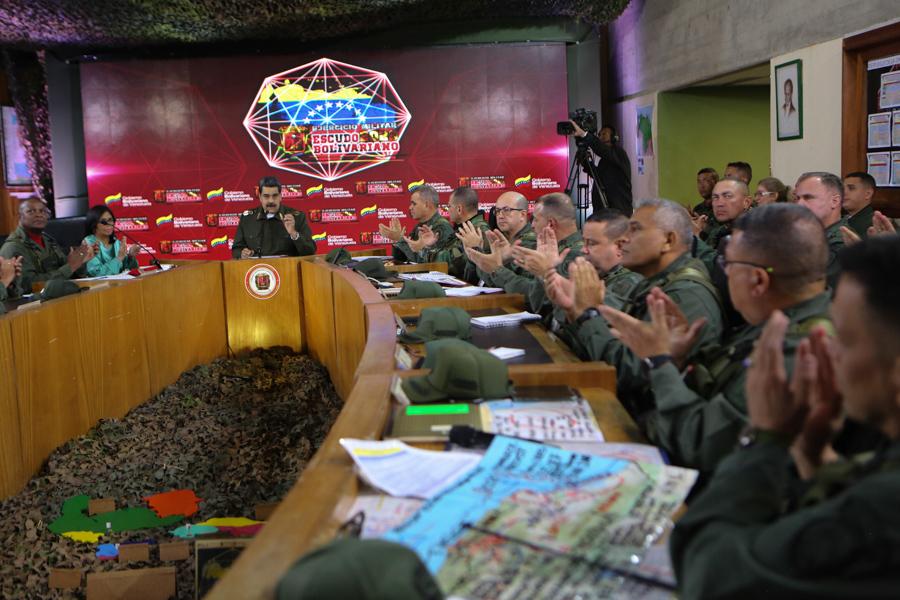 Maduro: No le tenemos miedo a la confrontación armada