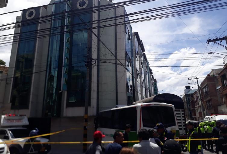 Accidente de ruta escolar en Bogotá deja cuatro menores heridos