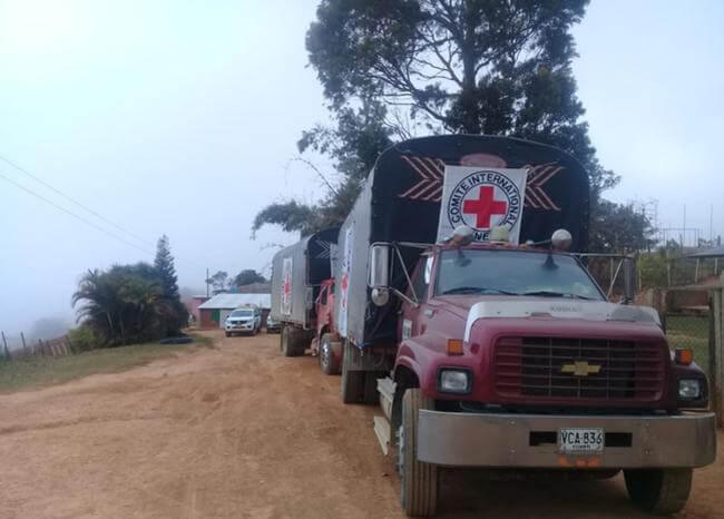 Luego del paro armado llegan ayudas humanitarias al Catatumbo