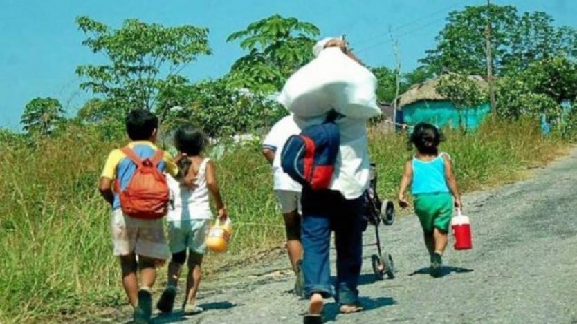 Nuevo desplazamiento masivo en Antioquia
