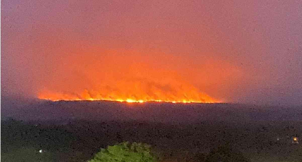 Logran controlar incendio en la Sierra de La Macarena