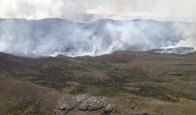 Grave incendio forestal en Santa Ana, Magdalena consumió 200 hectáreas