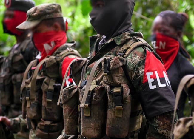 Las más recientes acciones terroristas del ELN en medio del paro armado
