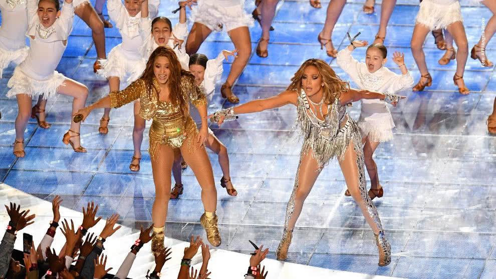 Así fue el show de Shakira, Jennifer López y J Balvin en el Super Bowl