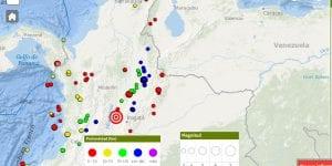 Se registra fuerte temblor en Santander