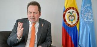 Carlos Ruiz Massieu, violencia en Colombia