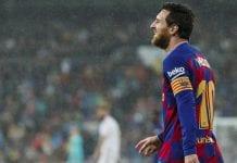 Barcelona UEFA Messi