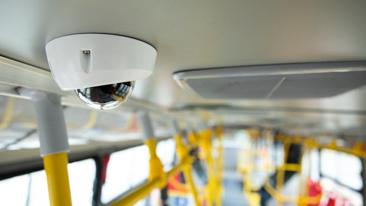 Corte aprueba instalación de cámaras de vigilancia en transporte público