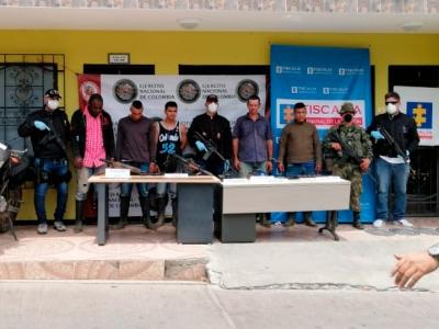 Nuevo golpe al Clan del Golfo: Capturan a cinco de sus integrantes