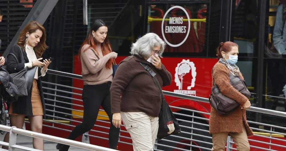 La mayoría de casos de contagio en Bogotá se concentran en el Norte