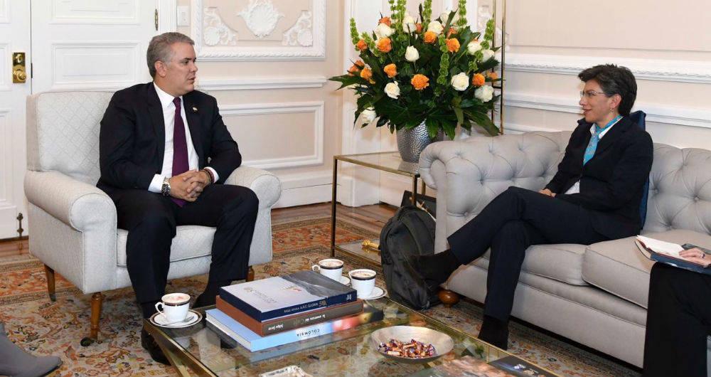 Duque le responde a Claudia López sobre la situación de los venezolanos