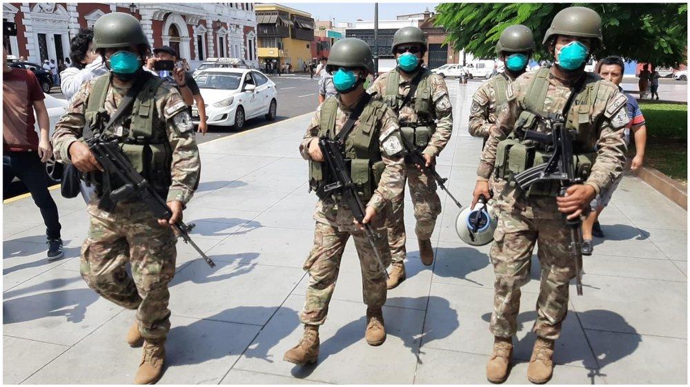 Eximen penalmente a militares que causen lesiones o muertes en Perú