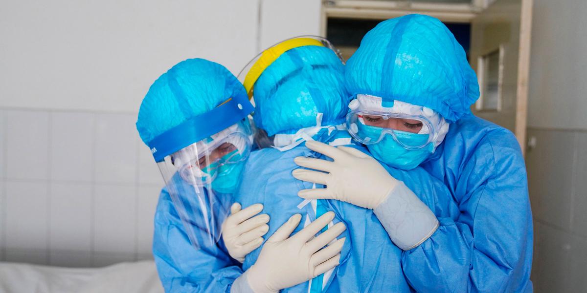 Coronavirus casos contagios médicos
