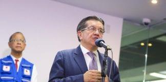 Ministro Fernando Ruiz curva pruebas covid