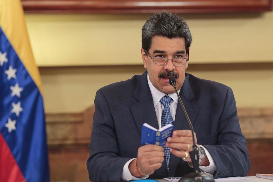 Nicolás Maduro máquinas coronavirus