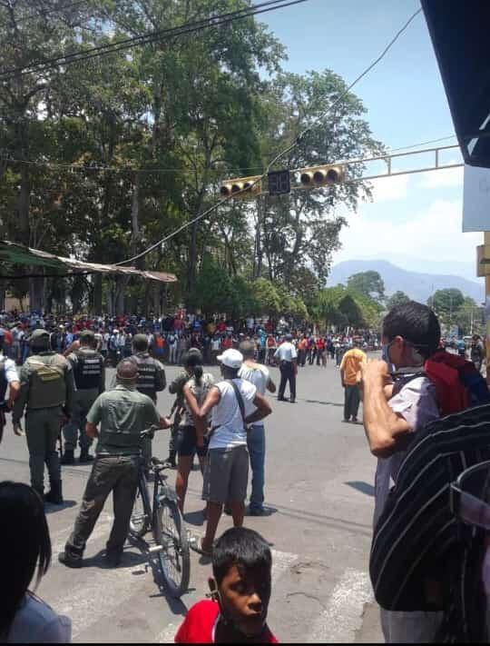 Disturbios en Cumanacoa Sucre Venezuela