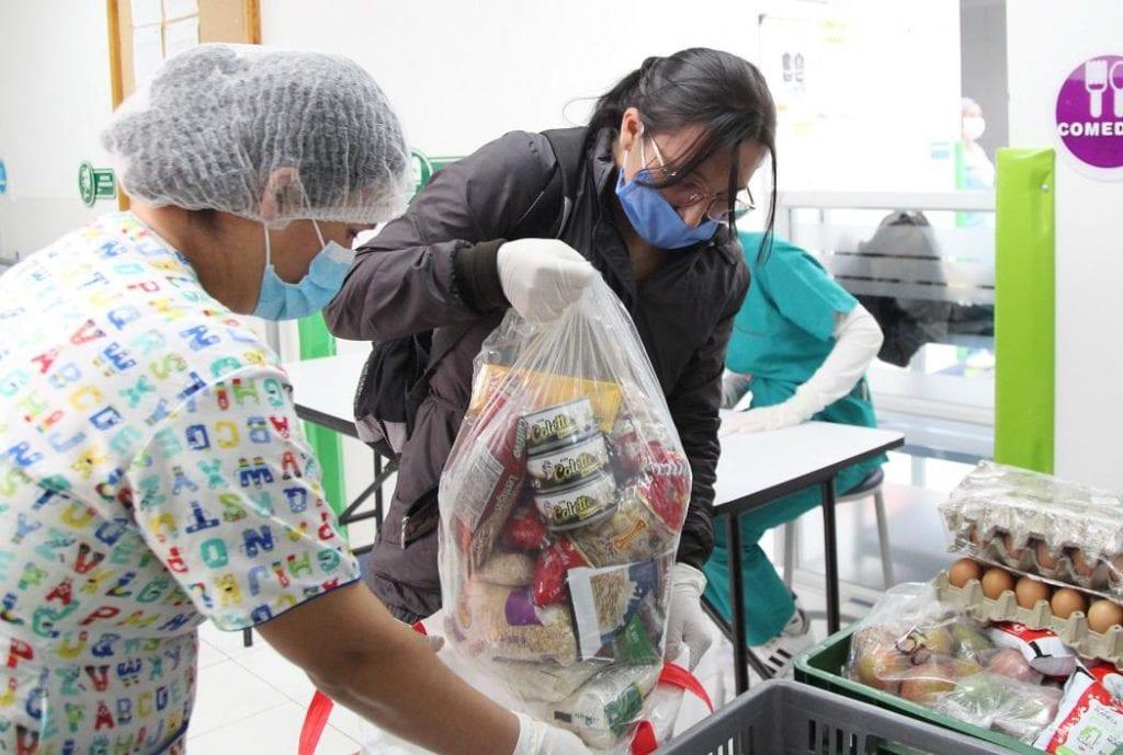 Balance de las ayudas que se han entregado en Bogotá