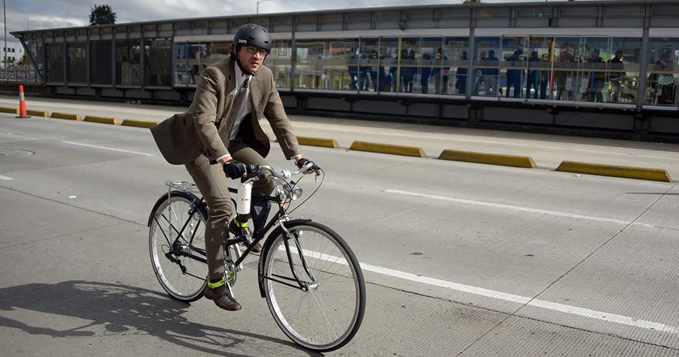 Foro Económico Mundial destaca a Bogotá por promover uso de la bicicleta