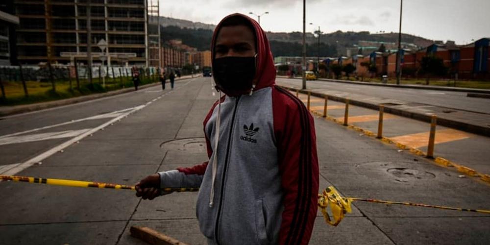 Permanecen los bloqueos y plantones en el sur de Bogotá