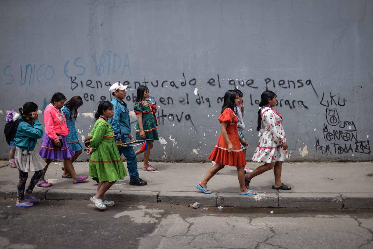 Distrito hospedará a indígenas que fueron desalojados en el barrio Santa Fe