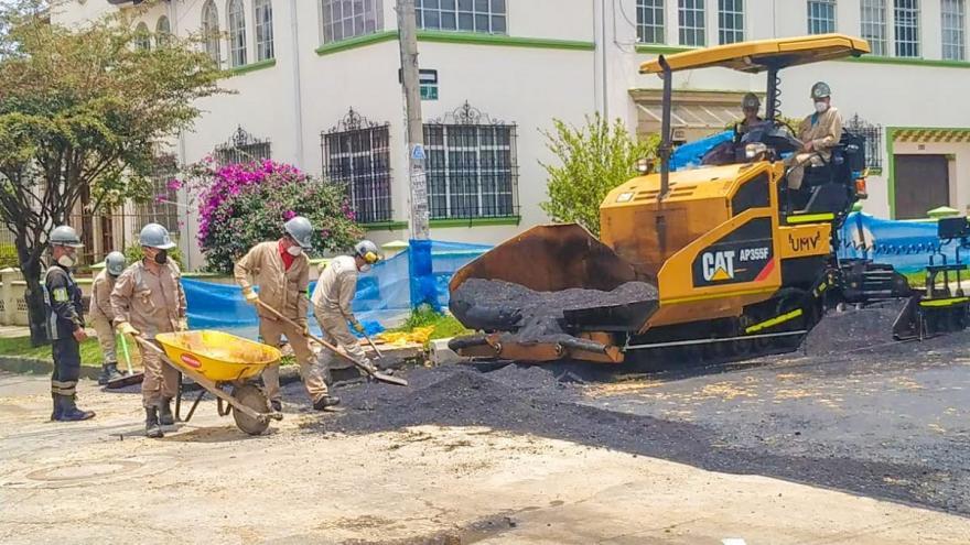 Así avanzan las obras viales en Bogotá durante la cuarentena