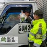 Policía de Soacha en contra del Covid-19