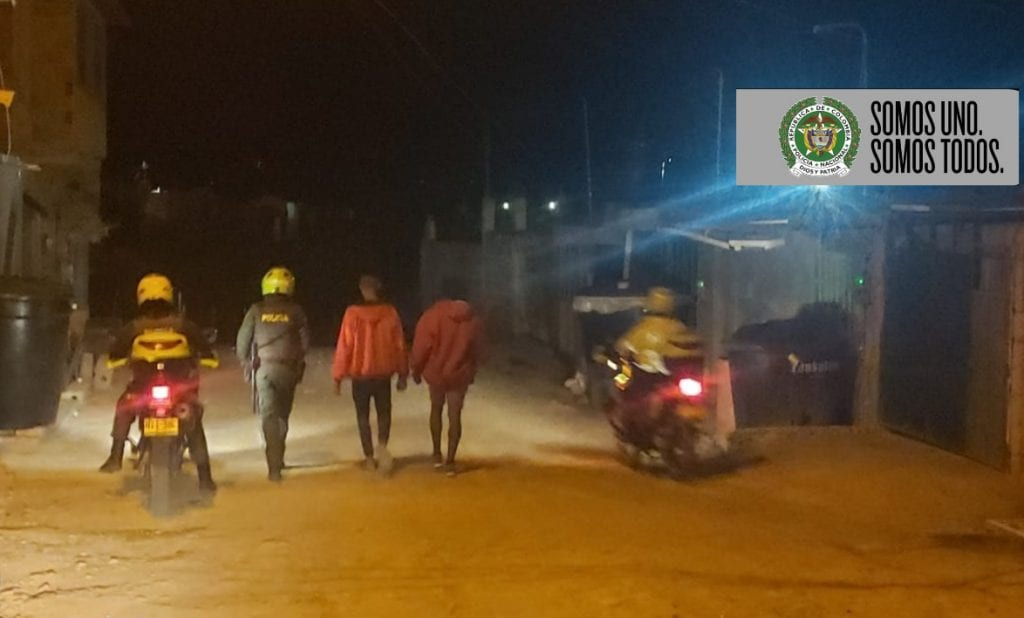 Siguen controles en el área rural de Soacha