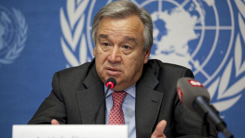 ONU, Antonio Gueterres