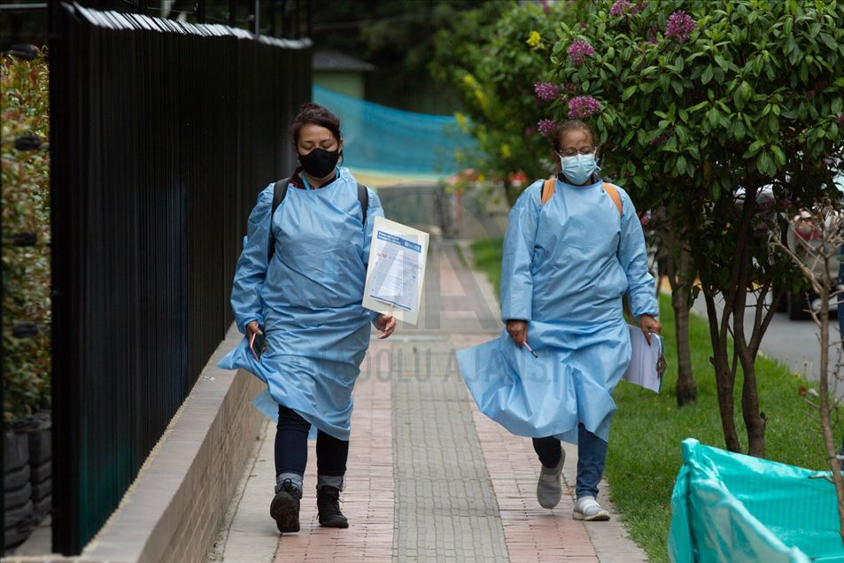 Alerta Naranja UPZ Bogotá Colombia