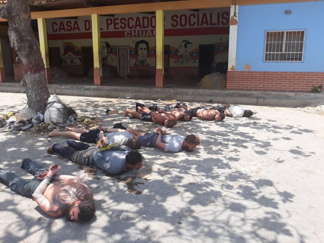 Incursiones en Venezuela