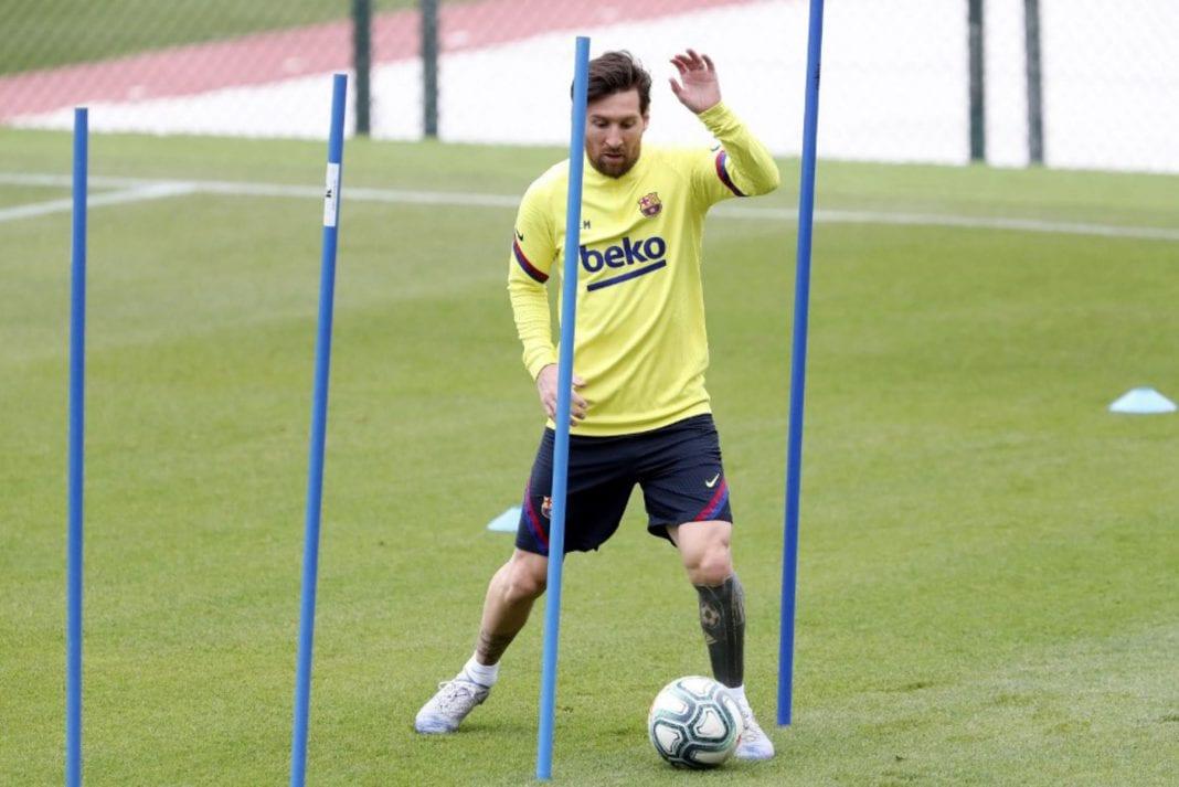 Prácticas fútbol España