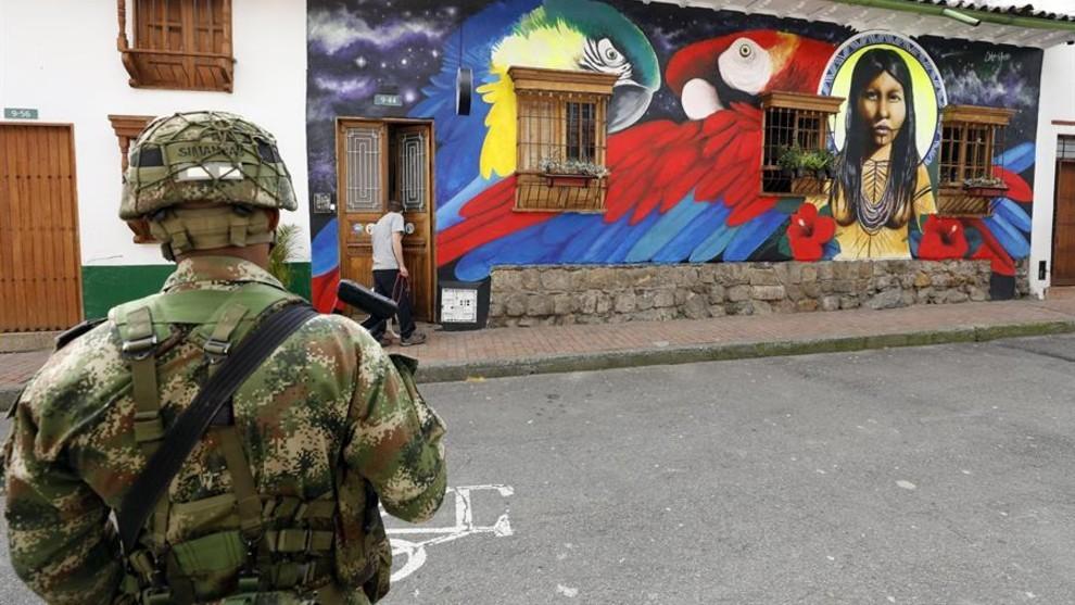 Confinamiento Colombia