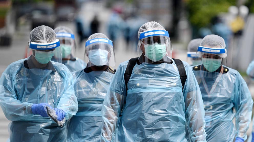 Europa Casos Coronavirus Muertes