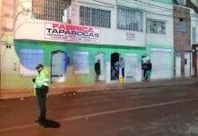 Explosión San Bernardo