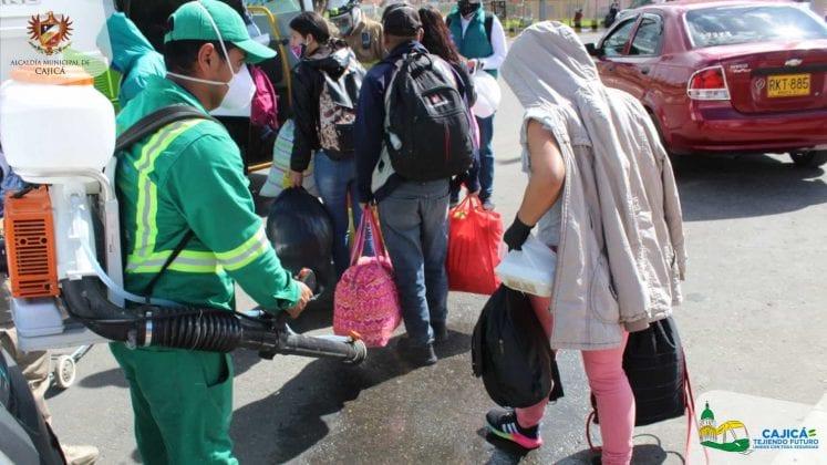 50 migrantes regresarán a su país con apoyo de la Alcaldía de Cajicá
